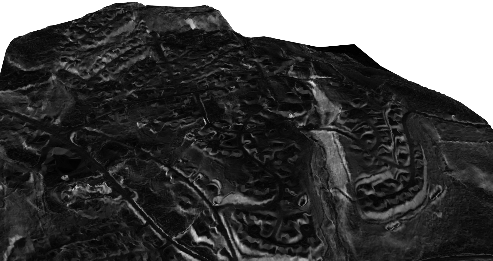 Terrain used to create the drawing.