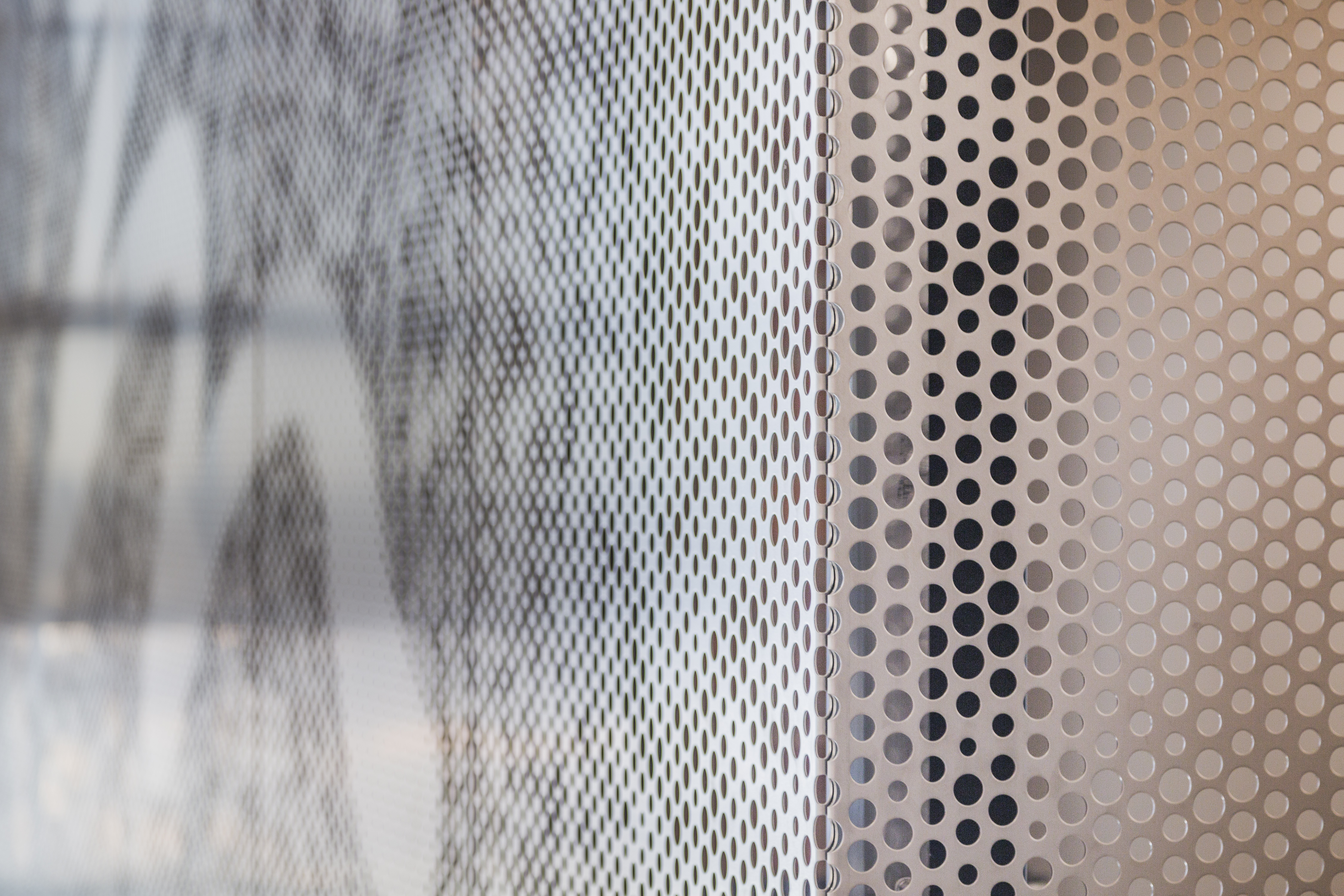 Holmes Murphy Feature Wall detail. Photo: Zahner.